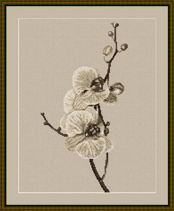 """Набор для вышивания нитками  """"Орхидеи"""""""
