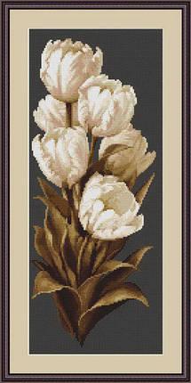 """Набор для вышивания нитками  """"Тюльпаны"""", фото 2"""