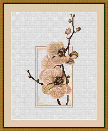"""Набор для вышивания нитками  """"Орхидеи"""", фото 2"""