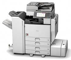 МФУ Ricoh MP C3503ZSP формата а3. Полноцветный. Функциональная smart-panel. Сетевой принтер/сканер/копир.