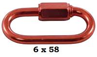 Алюминиевый карабин огниво, 6 мм