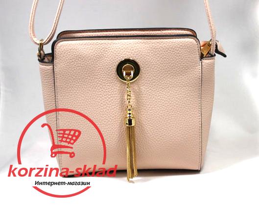 5014f9dafbc8 Купить Женскую сумку клатч через плечо NewMilano цвет пудру оптом и ...