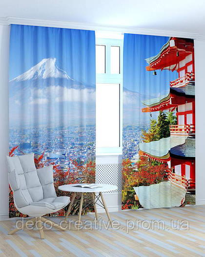 Фотошторы Китай вид на горы