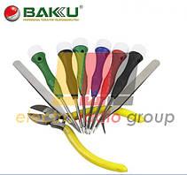 """Набор инструментов  BAKKU  BK6500 (Отвёртки: T1,5, T3, T5, T6, """"мерс""""1.5, крест1.7, Пинцеты:прямой,"""