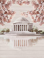 Декор панно Cersanit Церсанит 600*450 Сакура (Sakura)  дворец(палац) настенный