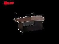 Стол Ньюмен (правый, стеклянный экран) 1800х984х764 см