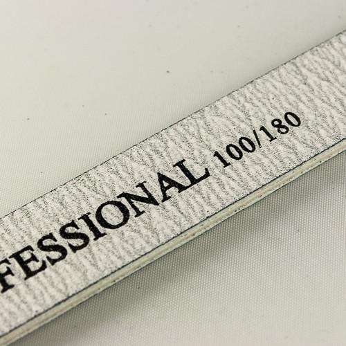 пилка salon professional 100/180 для ногтей