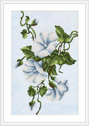 """Набор для вышивания нитками  """"Вьюнок"""", фото 2"""