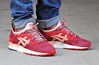Мужские кроссовки Asics x Ronnie Fieg Gel Lyte V 5 VOLCANO BURGUNDY RED