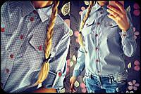 Классическая женская рубашка 865 купить