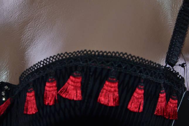Бюстгальтер Sanny бархатный с кисточками (W82400) | 6 шт., фото 2
