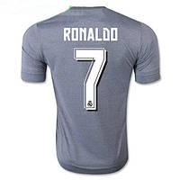 Футбольная форма Реал Мадрид Роналдо 2015-2016 Выездная (серая), фото 1