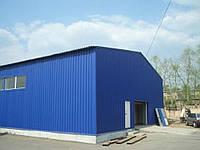 Изготовление и монтаж складов специализированных до 3000 кв. м. , рамп, навесов, встроенных в склады офисов Из