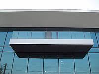 Ограждение балкона из ударопрочного каленного стекла