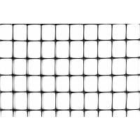 Сетка ограждающая полимерная, 50 г/м2, ячейка 21х21, 1х180м
