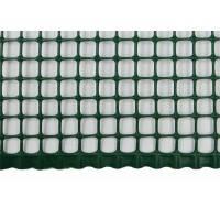 Сетка ограждающая полимерная, 400 г/м2, ячейка 10х10, 1х50м