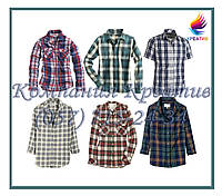 Рубашки в клетку (под заказ от 50 шт) с НДС