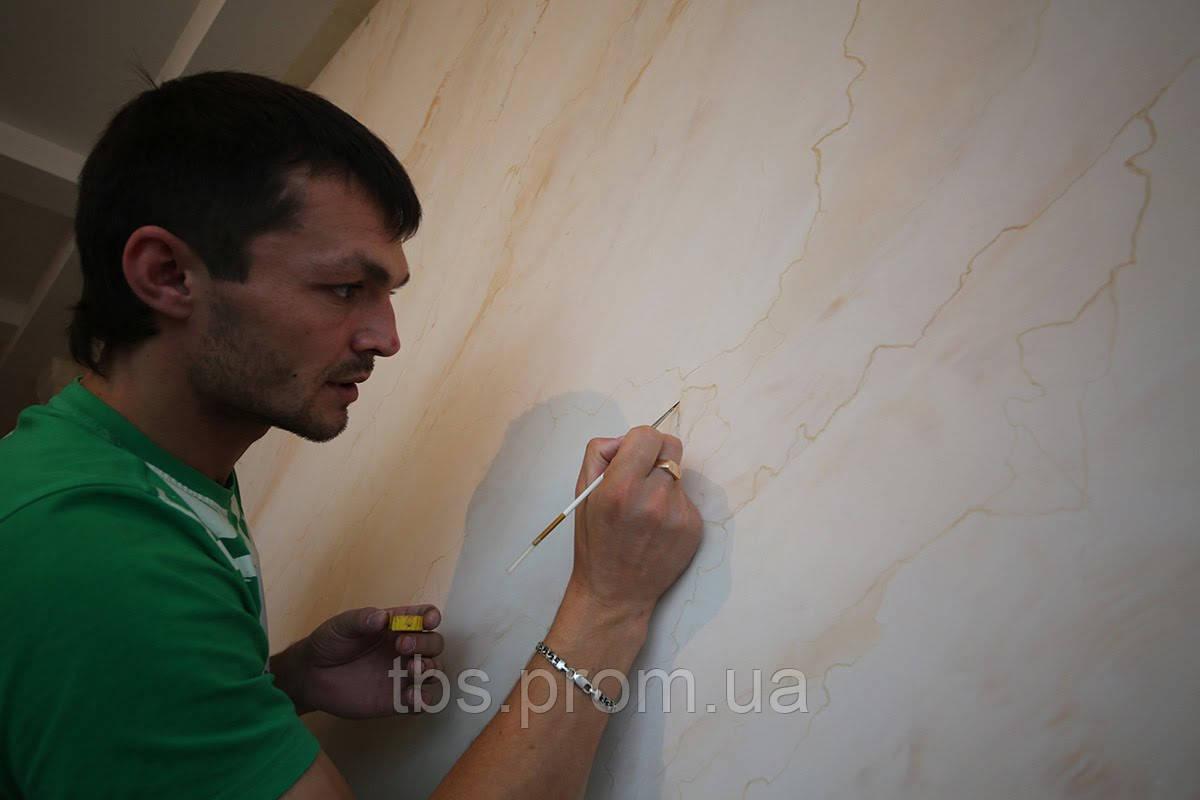 Венецианская штукатурка в интерьере - GROUP-TB.COM.UA в Киеве