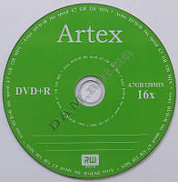 Диск DVD+R Artex 4.7GB 12MIN 16x bulk 50