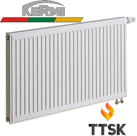 Стальной радиатор Kermi FTV 33  нижнее подключение