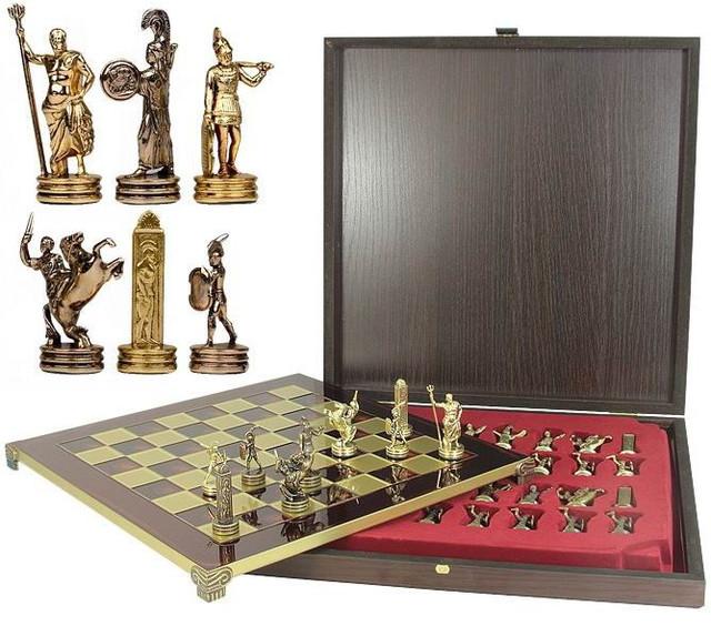 Шахматы и нарды Made in Greece