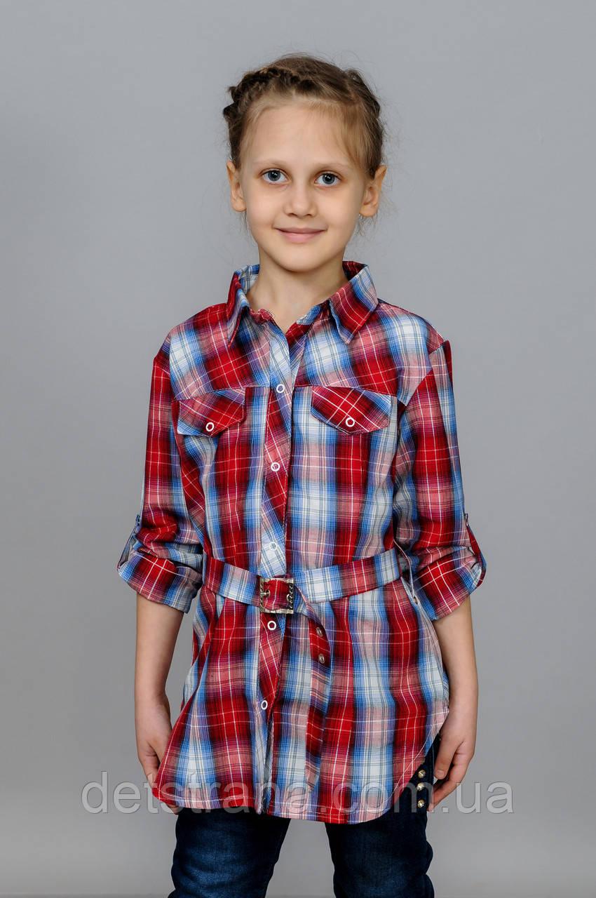 Детская рубашка для девочки, фото 1
