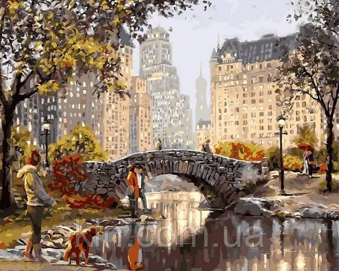 Картина по номерам Babylon Старинный мостик VP505 40 х 50 см