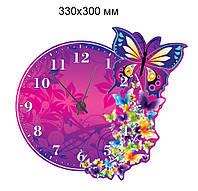 Часы настенные Бабочка