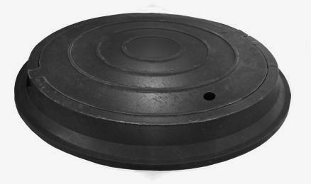 Люк ПК канализационный средний класс В125 (до 12,5 тн)