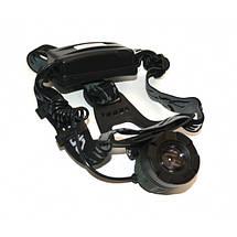 Налобный фонарик Bailong Police 2188-Т6, светодиодный фонарик на лоб, один диод, фонарь налобный, zoom, фото 3
