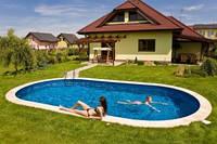 Сборный овальный бассейн IBIZA POOL 5,25 х 3,2 х 1,5 метра
