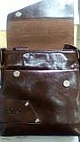 Мужская сумка POLO BULUO? коричневая, фото 2
