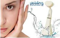 Ультразвуковой массажер для чистки лица Pobling, щетка для лица pobling, массажер для лица и подбородка