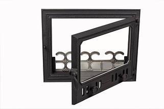 Чугунные печные дверцы - VVK