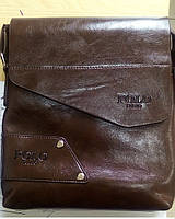 Мужская сумка POLO BULUO? коричневая