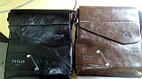 Мужская сумка POLO BULUO? коричневая, фото 4
