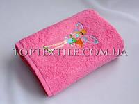 Детские махровые полотенца феи winx