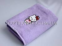 Детские махровые полотенца hello-kity