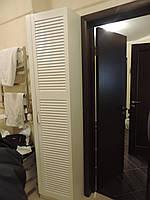 Шкаф в ванную комнату двери ставни, фото 1