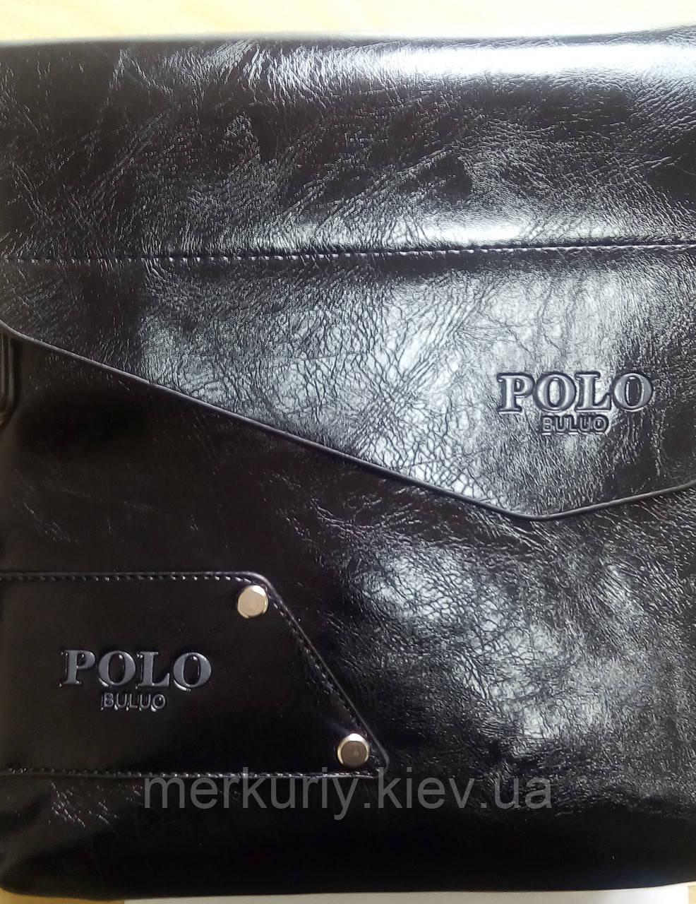 Мужская сумка POLO BULUO, черная