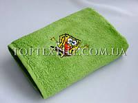 Махровые полотенца детские spang-bob