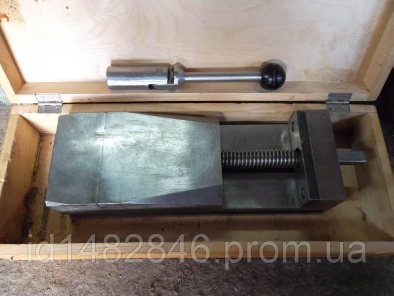 Тиски станочные неповоротные стальные с ручным приводом 7200-0205