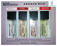 Парфюмерный набор с феромонами Armand Basi Арманд Баси мини 4 по 15мл женский топ аромат