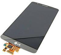 Дисплей (экран) + сенсор (тач скрин) LG G3s (D724) (оригинал)