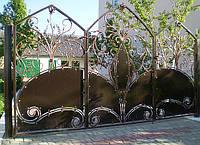 Кованные ворота 14850
