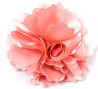 Цветок 008 атласный  для одежды, на волосы