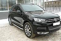 Дефлектор капота (мухобойка) Volkswagen Touareg 2010-