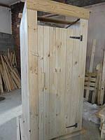 Туалет деревянный для дачи и сада
