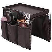Органайзер на подлокотник кресла или дивана. 6 отделений Armrest Organizer
