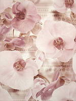 Декор панно  Cersanit Церсанит 450*600 Элизабета (Elisabeta) цветок настенная